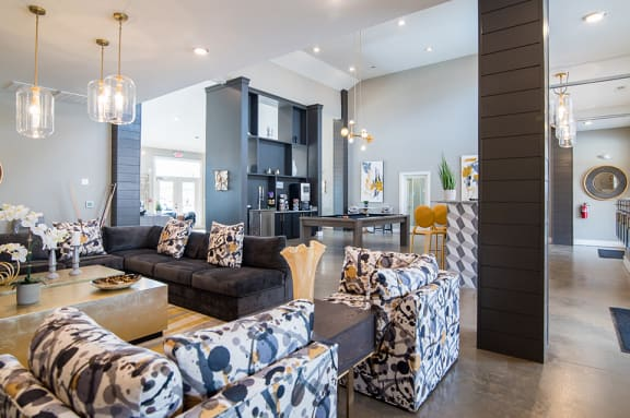 Indoor and Outdoor Resident Lounge with Wi-Fi at Comet Bermuda Run, North Carolina, 27006