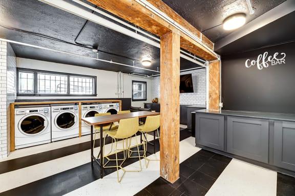 John Winthrop Apartments laundry room