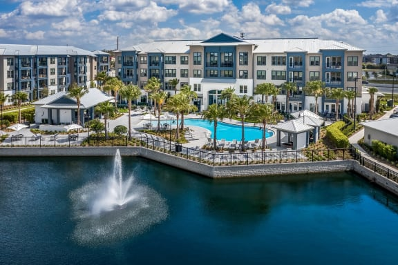 Luma Headwaters Exterior with Pool at Luma Headwaters, Orlando, 32837