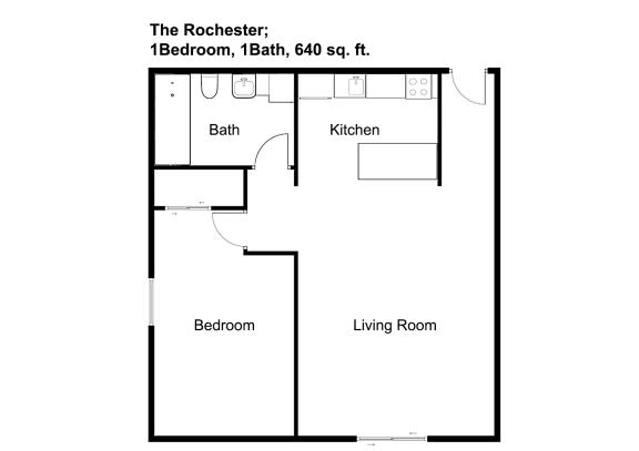 Floor Plan  The Rochester