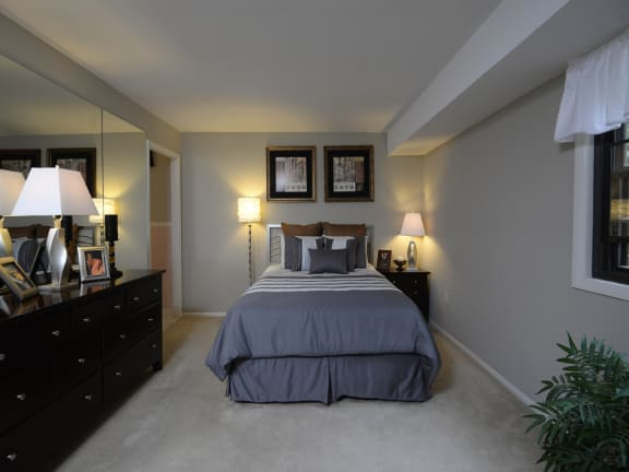Master bedroom with on suite bathroom