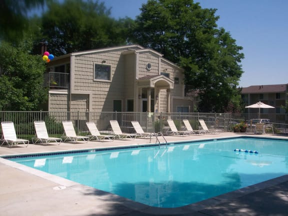 pool deck for Timberleaf Apartments in Lakewood, CO