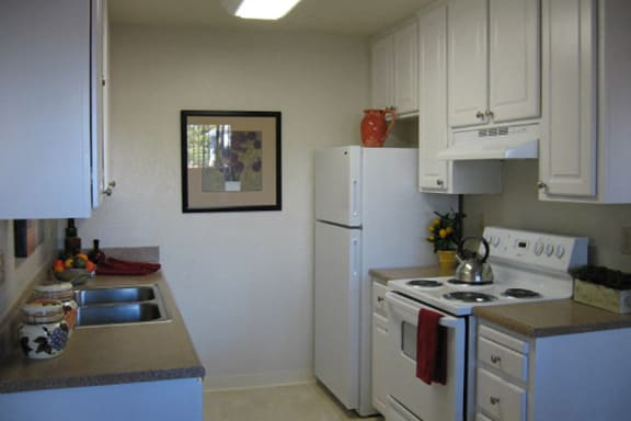 Kitchen at Riverstone Apartments in Antioch, CA