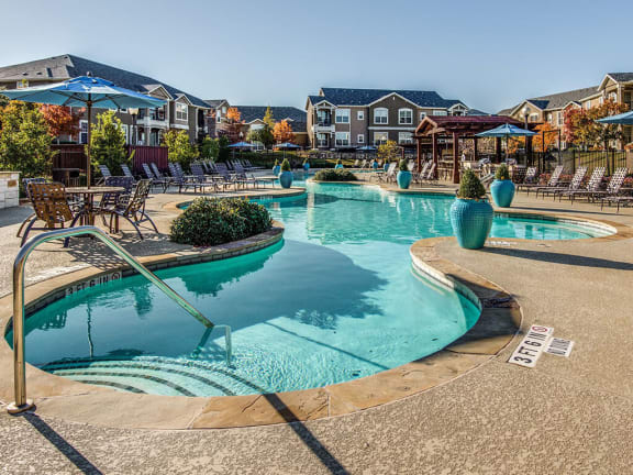 Resort-Style 150-Foot Swimming Pool at Orion McCord Park, Little Elm