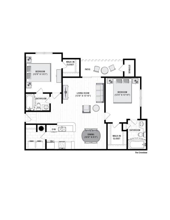 Floor Plan  Reserve at Wescott  Crenshaw Floor Plan