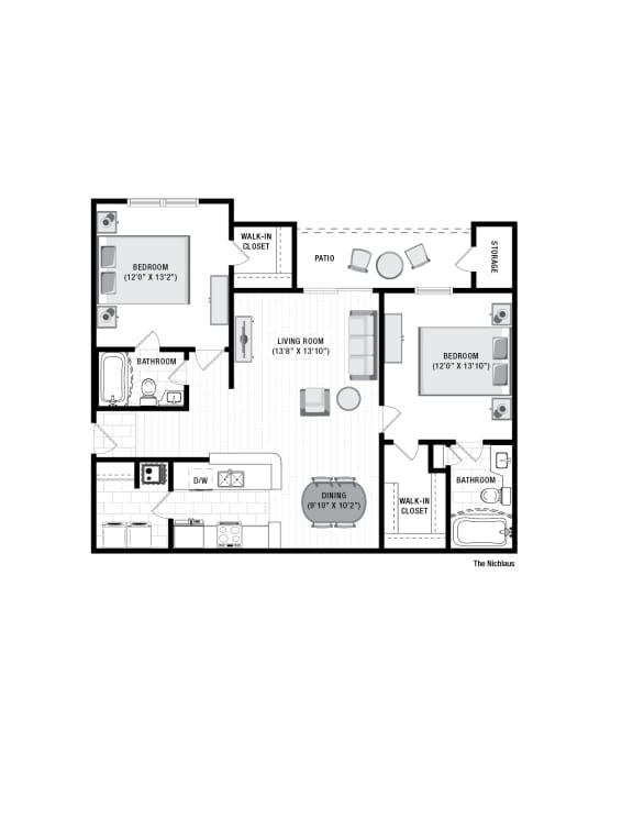 Floor Plan  Reserve at Wescott  Nickalus floor plan