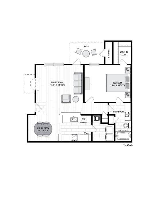 Floor Plan  Reserve at Wescott Woods Floor Plan