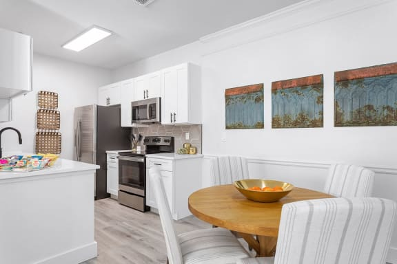 reserve wescott remolded kitchen and dining area
