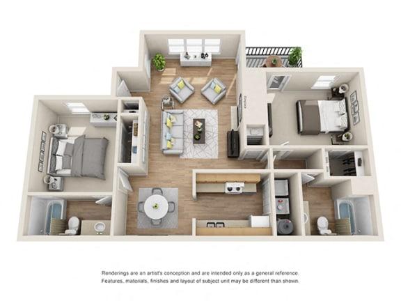 Floor Plan  Addison at Sandy Springs_Seabright