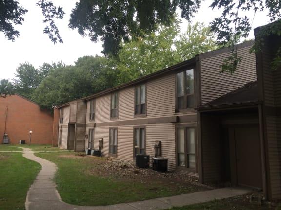 Elegant Exterior View Of Property at Walnut Trails Apartments, Elkhart, IN