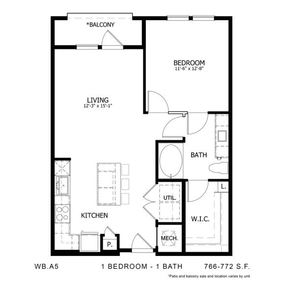 Floor Plan  WB.A5