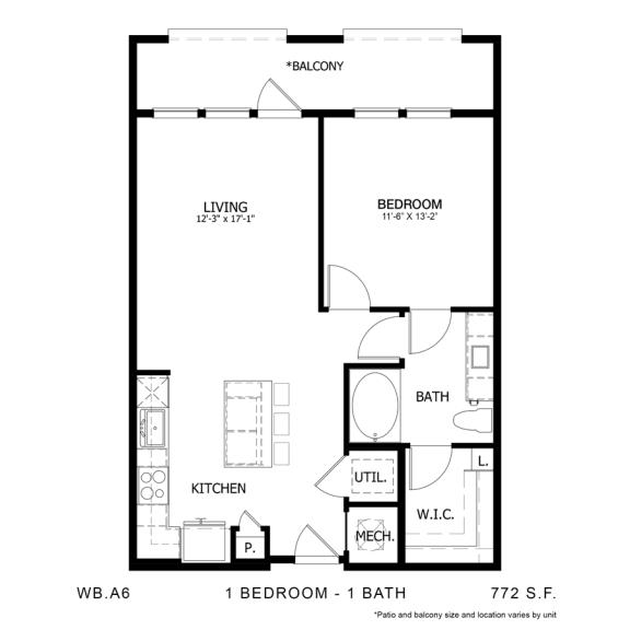 Floor Plan  WB.A6