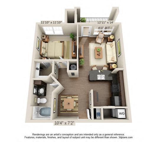Floor Plan  Aspen Creek - A5