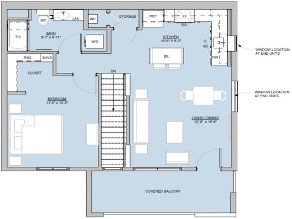 Manzano Floor Plan  Altitude at Vizcaya
