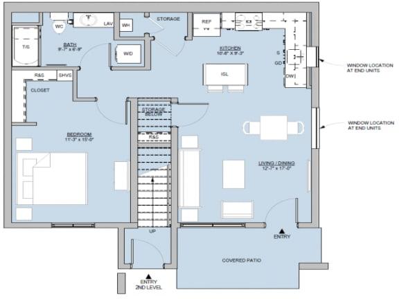 Sandia Floor Plan |Altitude at Vizcaya