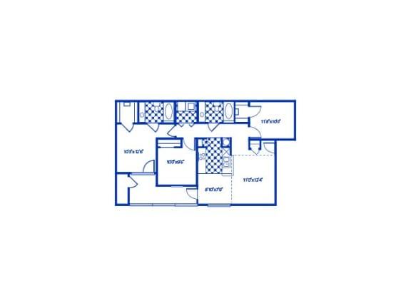 Evergreen Floor Plan |Cypress Gardens