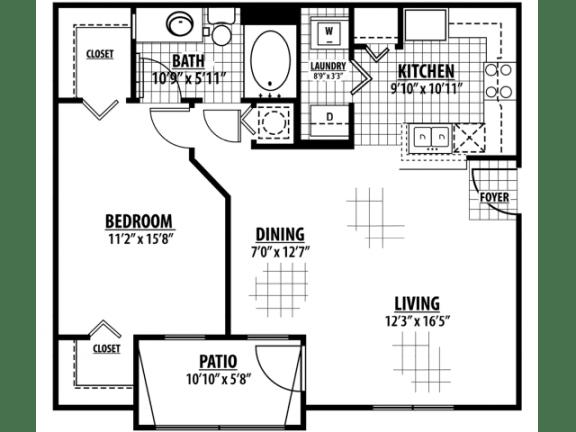 Oxford Floor Plan  Estates at Heathbrook