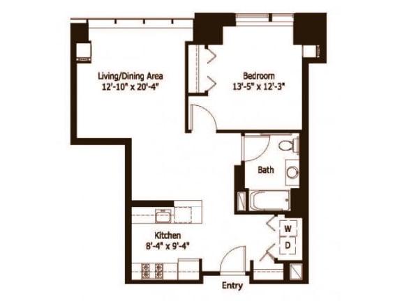 1A Floor Plan  Hartford 21