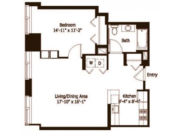 1C Floor Plan  Hartford 21