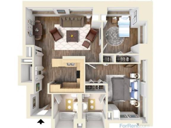 Floor Plan  2A Floor Plan |Hartford 21