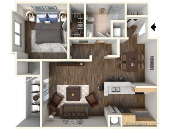 Floor Plan  A-1 759 Floor Plan |Faxon Woods