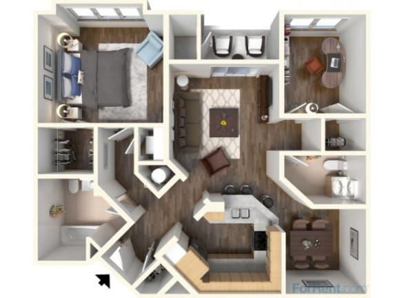 Floor Plan  B-1 998 Floor Plan |Faxon Woods