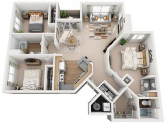 Floor Plan  Santa Ana Floor Plan  Links at High Resort