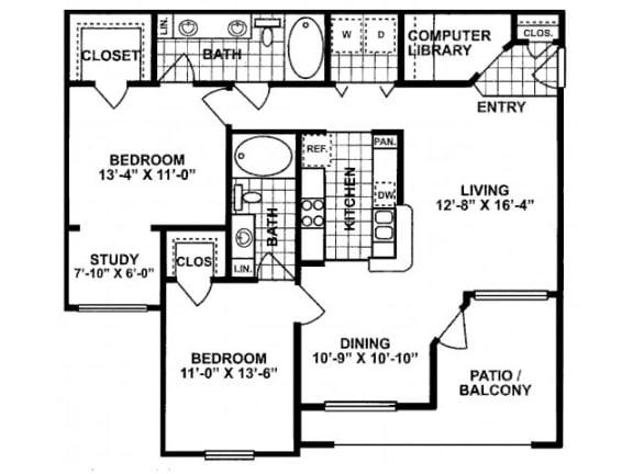Dayflower Classic Floor Plan | Lodge at Lakeline Village