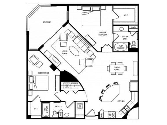 Avalon Platinum Floor Plan   The Paramount