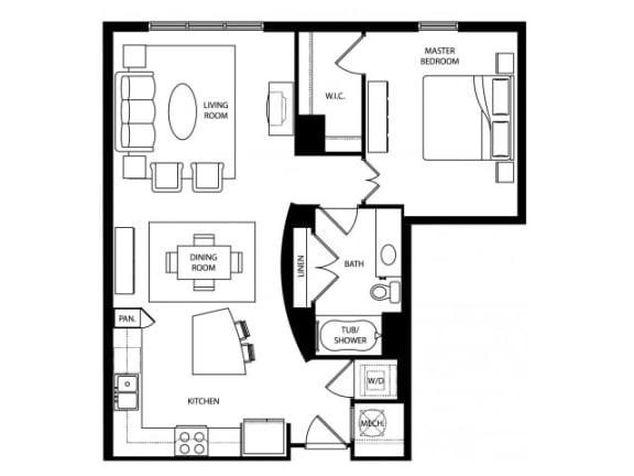 Clevelander Platinum Floor Plan | Paramount