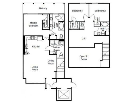 Villas Platinum Floor Plan | The Paramount