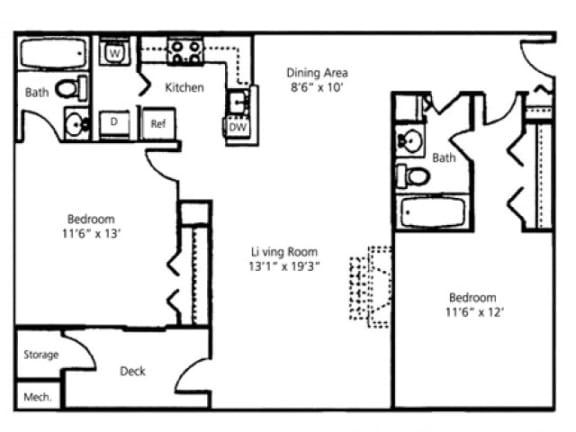 The Ashwood Floor Plan |Pavilions