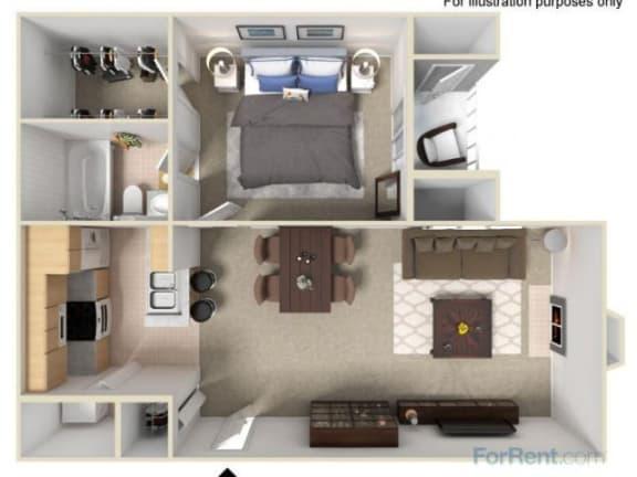 Floor Plan  The Linden Floor Plan |Pavilions