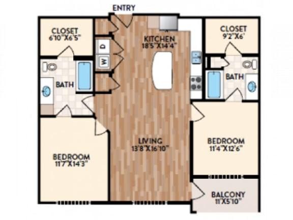 Sorrento Floor Plan | Rialto