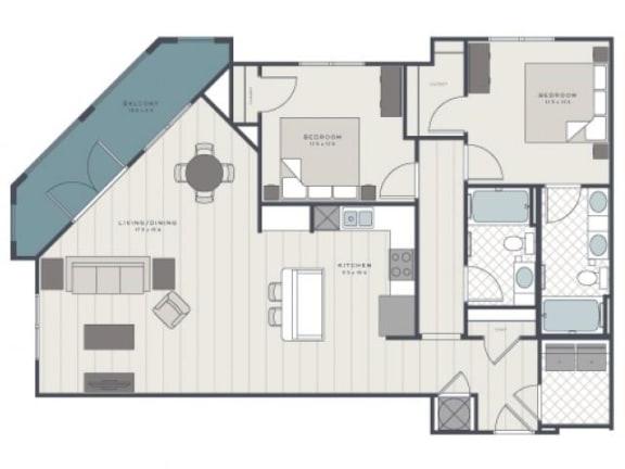 Floor Plan  The Ashley Floor Plan |The Standard