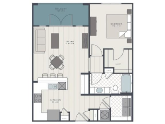 Floor Plan  The Folly Floor Plan  The Standard