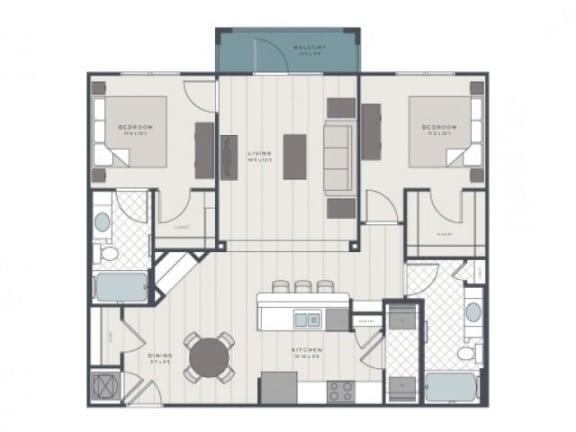 Floor Plan  The Wando Floor Plan |The Standard