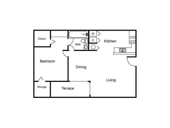 Floor Plan  A2 Floor Plan  Village Place
