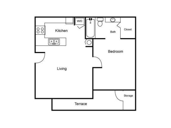 Floor Plan  A Floor Plan |Village Place