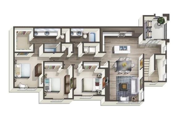 Floor Plan  Donner