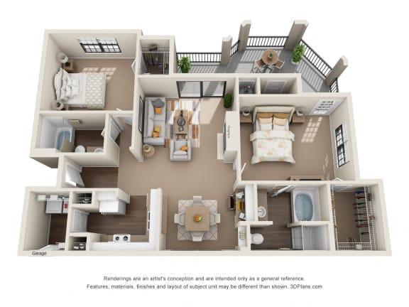 Floor Plan  Pecan