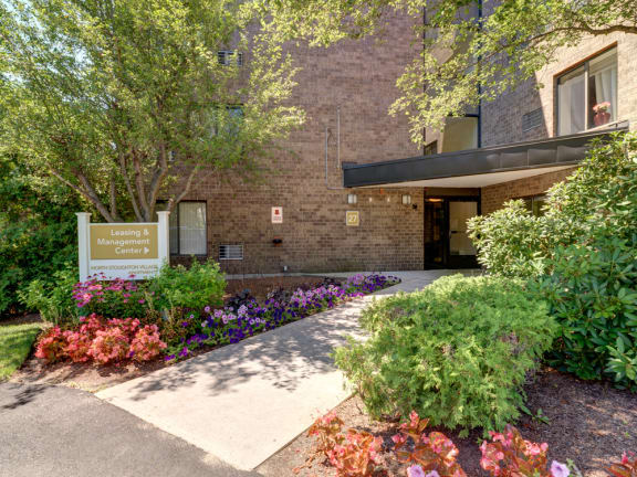 Leasing and management office at North Stoughton Village Apartments in Stoughton, MA
