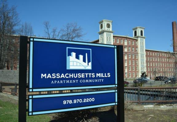 Mass Mills Apartments Lowell Logo