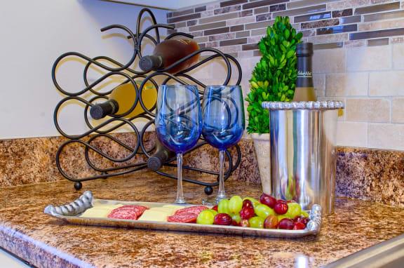 Granite Countertop Kitchen at Cordova Regency, Florida, 32503