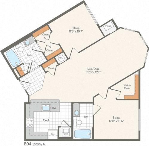 Floor Plan  B04