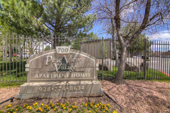 Gated Community Pine View Village Apartments, Flagstaff, AZ,86001