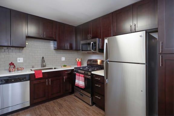 Energy Saver Refrigerator, at The Verandas Apartment Homes, CA, 91791