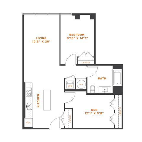 Floor Plan  AD5 Den