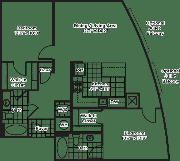 Floor Plan  B16