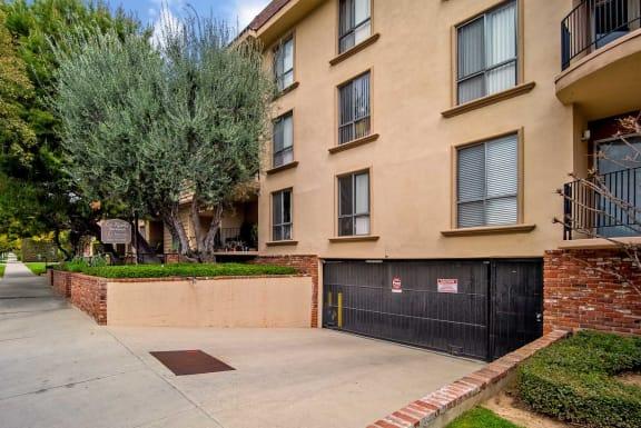 Property Sign at Los Robles Apartments, Pasadena, CA